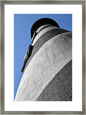 Historic St Augustine Lighthouse Framed Print by Christine Till
