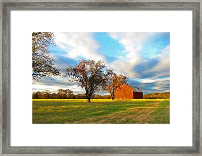 Historic St Marys Framed Print by Trish Clark
