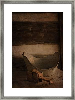 Historic Still Life Framed Print by Cindy Rubin