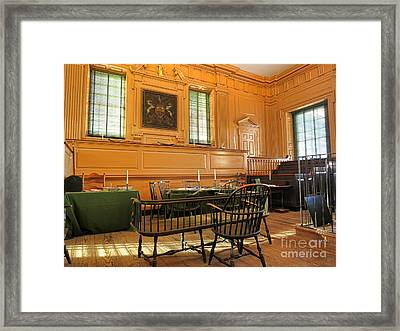 Historic Supreme Court Framed Print