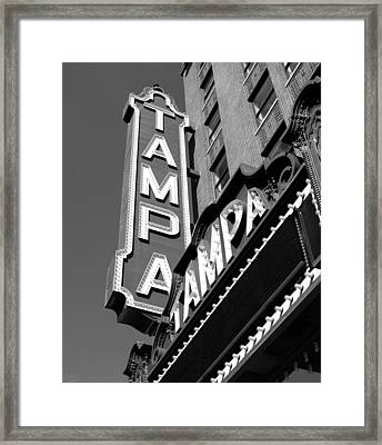 Historic Tampa Framed Print by David Lee Thompson