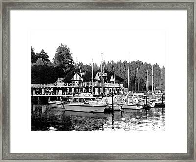 Historic Vancouver Rowing Club Framed Print by Will Borden