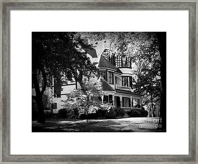 Historic Victorian Home Framed Print