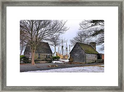 Historic Waterfront Framed Print