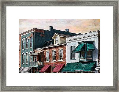 Historic Weston Framed Print