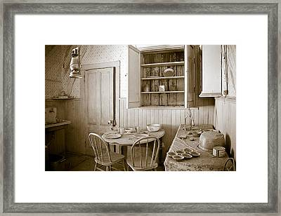 Historical American Home Framed Print