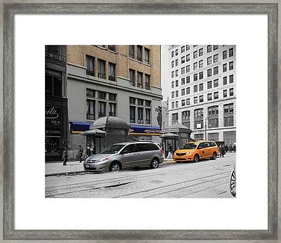 Historical Blend 1 Framed Print by Andrew Fare
