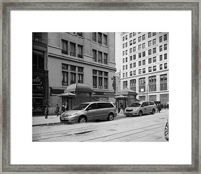Historical Blend 1b Framed Print by Andrew Fare