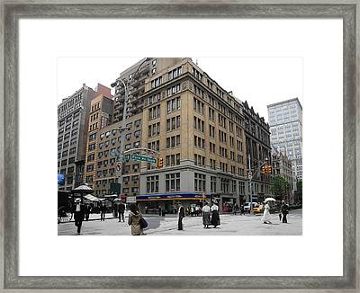 Historical Blend 2 Framed Print by Andrew Fare