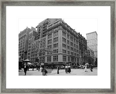 Historical Blend 2b Framed Print by Andrew Fare