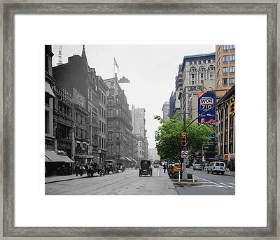 Historical Blend 3 Framed Print by Andrew Fare