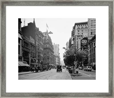 Historical Blend 3b Framed Print by Andrew Fare