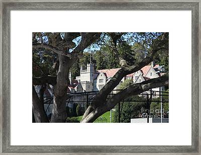 Historical Bowles Hall Uc Berkeley College Dormatory 5d24734 Framed Print