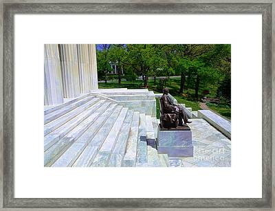Historical Museum Building Of Buffalo Framed Print by Kathleen Struckle