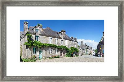 Historical Buildings At The Grand Framed Print