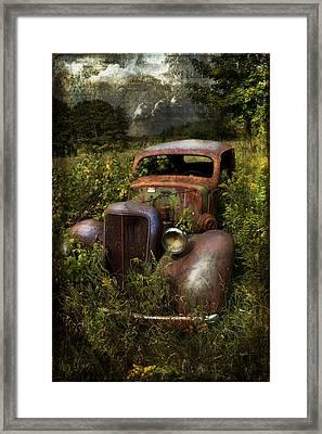 Historical Journey Framed Print by Evie Carrier