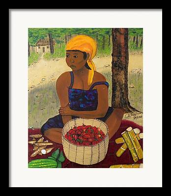 Fermentation Paintings Framed Prints