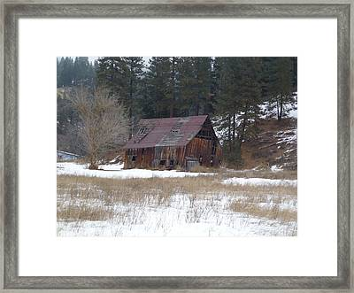 History By The Wayside Framed Print