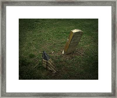 Remembered Framed Print