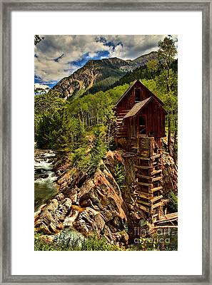 History In Crystal Framed Print by Adam Jewell