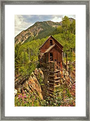 History In The Mountains Framed Print by Adam Jewell