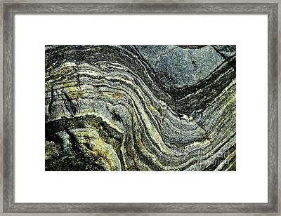 History Of Earth 9 Framed Print by Heiko Koehrer-Wagner