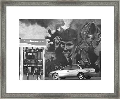 History Of War To The Present Framed Print by Lenore Senior