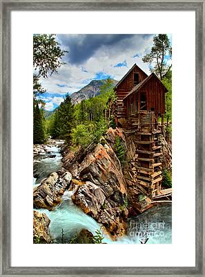 History On The Edge Framed Print by Adam Jewell