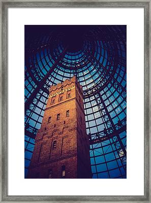 History Under Glass Framed Print
