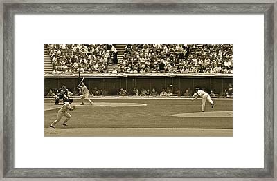 Hit And Run Framed Print