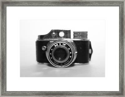 Hit Camera  Framed Print by Kelly Hazel