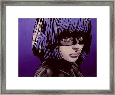 Hit-girl Framed Print by Ian  King