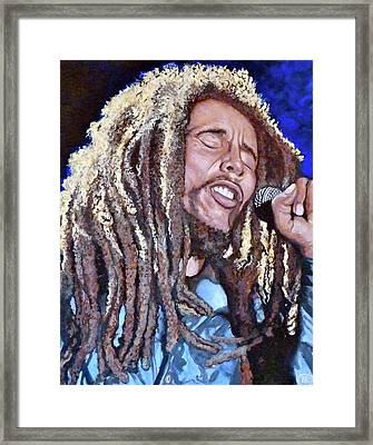 Hit Me With Music Framed Print by Tom Roderick