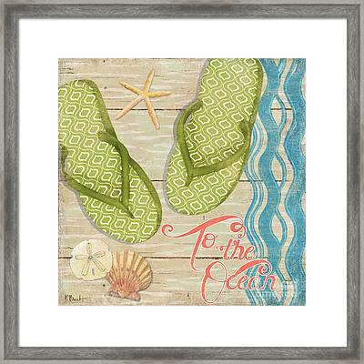Hit The Beach Iv Framed Print