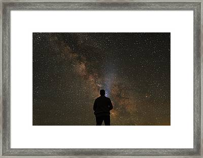 Hit The Lights Framed Print