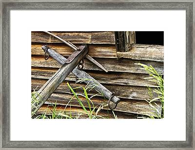 Hitch It Up Framed Print