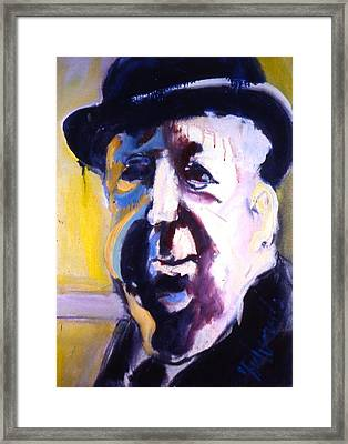 Hitch Framed Print by Les Leffingwell