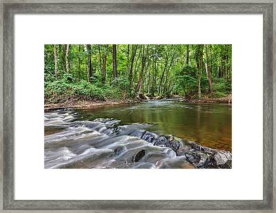 Hitchcock Creek Flow Framed Print
