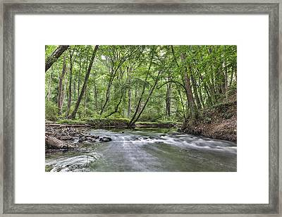 Hitchcock Creek Framed Print