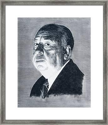 Hitchcock Framed Print by John Emery