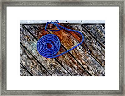 Hitched  Framed Print by Heidi Smith