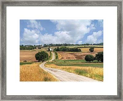 The Long Winding Road  Framed Print by Gill Billington