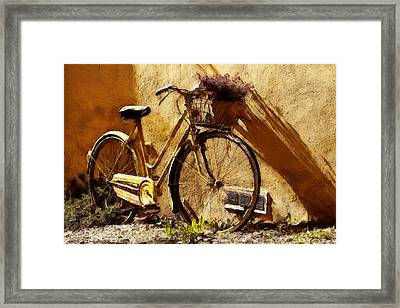 Hitching A Ride Framed Print by Sandy MacGowan