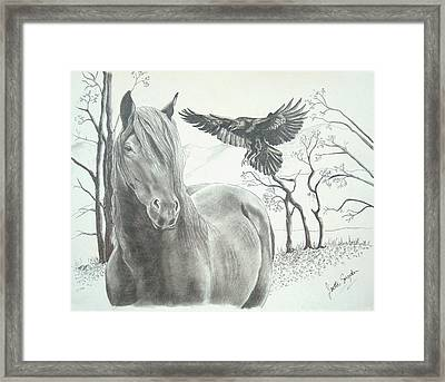 Hitch'n A Ride Framed Print