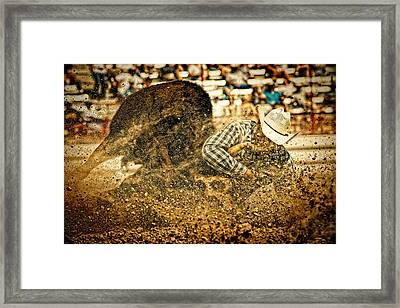 Hittin' The Dirt Framed Print