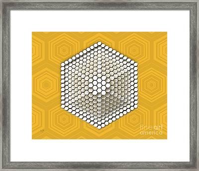 Hive Framed Print by Bedros Awak