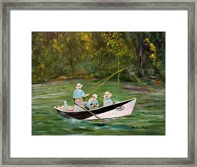 Hiwassee Drifter Framed Print by Barbara Pirkle