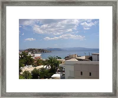 Tolo - Greece Framed Print by Kostas Dendrinos