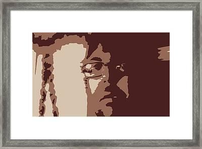 Hmmmmm Landscpape  Framed Print