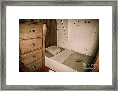 Hms Bounty Cabin Framed Print